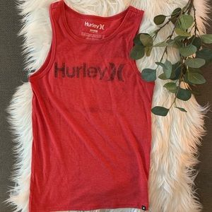 Hurley Red Tank Top
